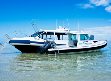 fiji island transfers by water taxi