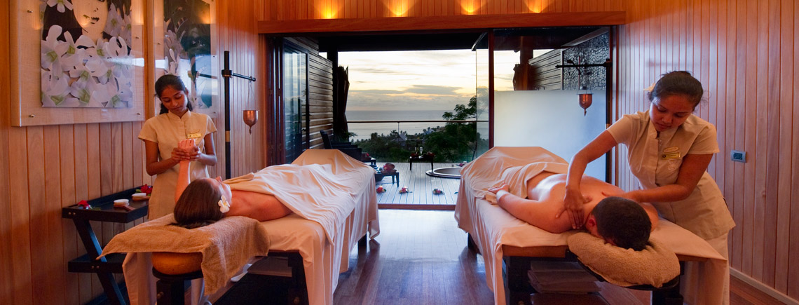 fiji resort with spa