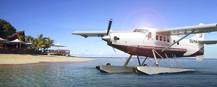 fiji seaplane island transfers