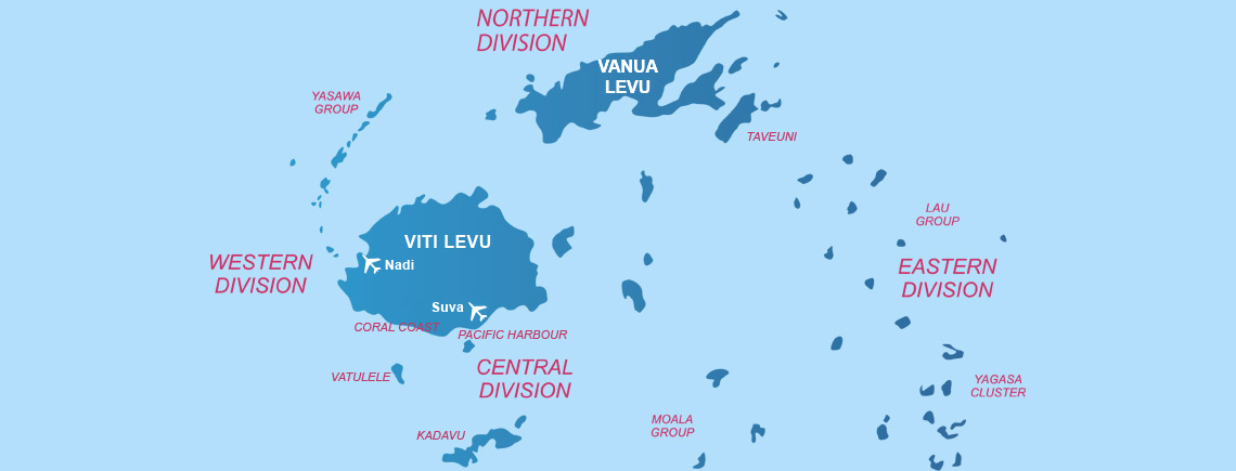 Fiji Island Location World Map.Islands Of Fiji The Best Places To Stay In Fiji From The Experts