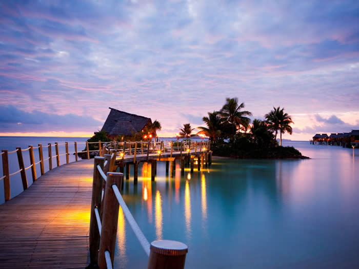 Likuliku lagoon resort fiji fiji island tours the Overwater bungalows fiji