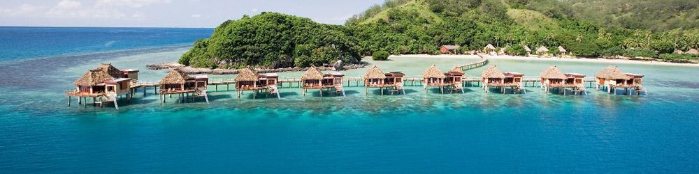 Likuliku resort fiji overwater bure