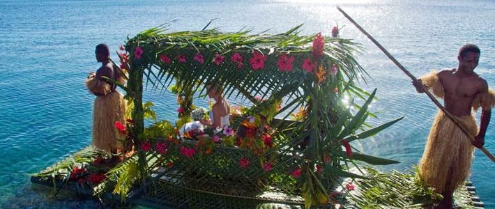 fiji wedding jean michel cousteau resort