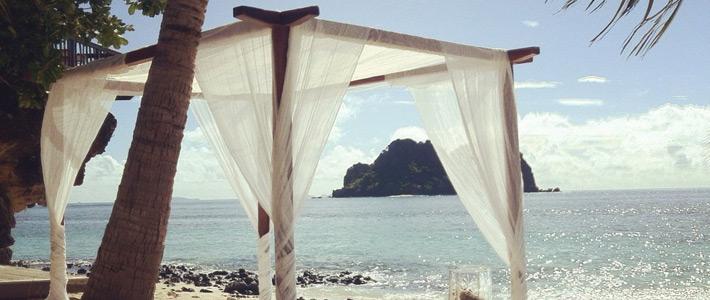 fiji wedding vomo island resort