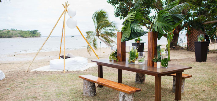 koro sun resort fiji wedding