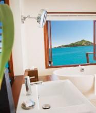 Likuliku Lagoon Resort Fiji – Overwater Bure Bathroom