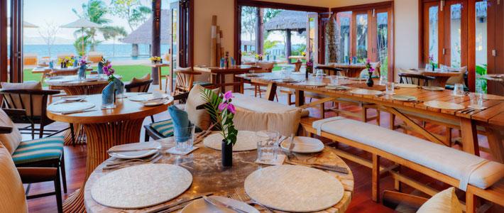 nanuku auberge resort fiji restaurant