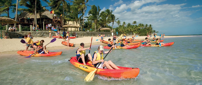 outrigger fiji beach resort water sports