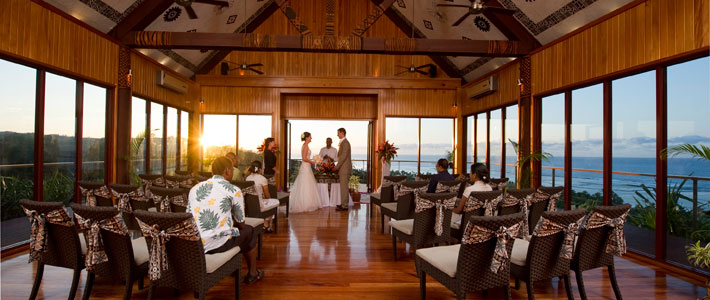 outrigger fiji beach resort wedding