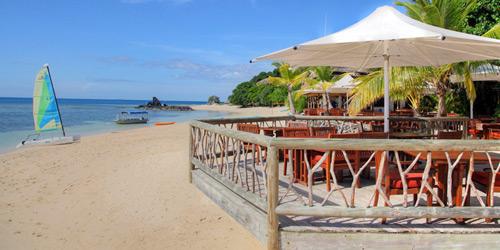 restaurant castaway island resort fiji