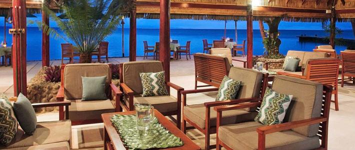 toberua island resort fiji dining