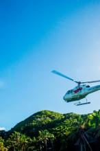 Tokoriki Resort Fiji Transfer Helicoptor