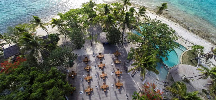 treasure island resort fiji restaurant