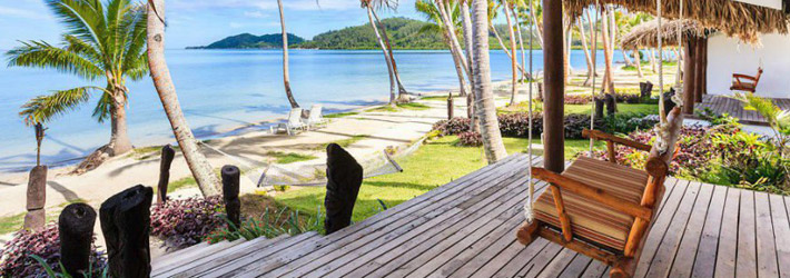 tropica island resort fiji beachfront bure
