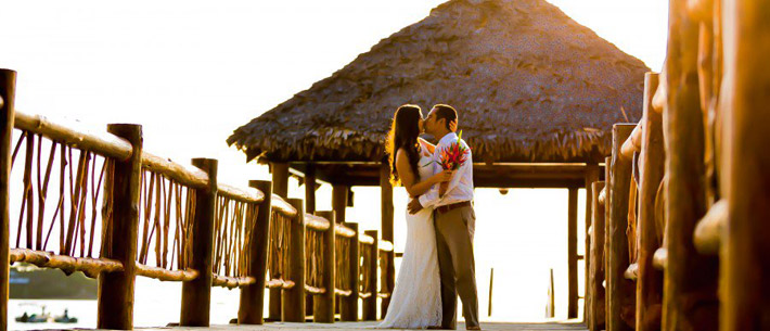 tropica island resort wedding