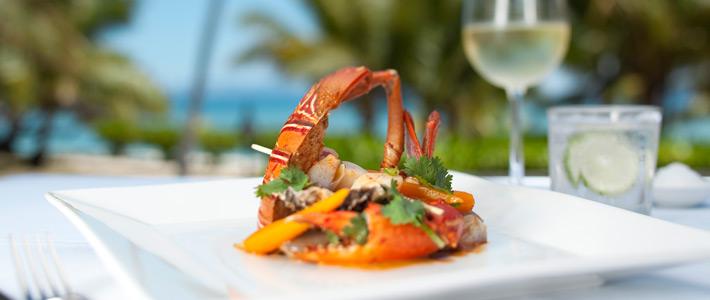vomo island resort fiji dining