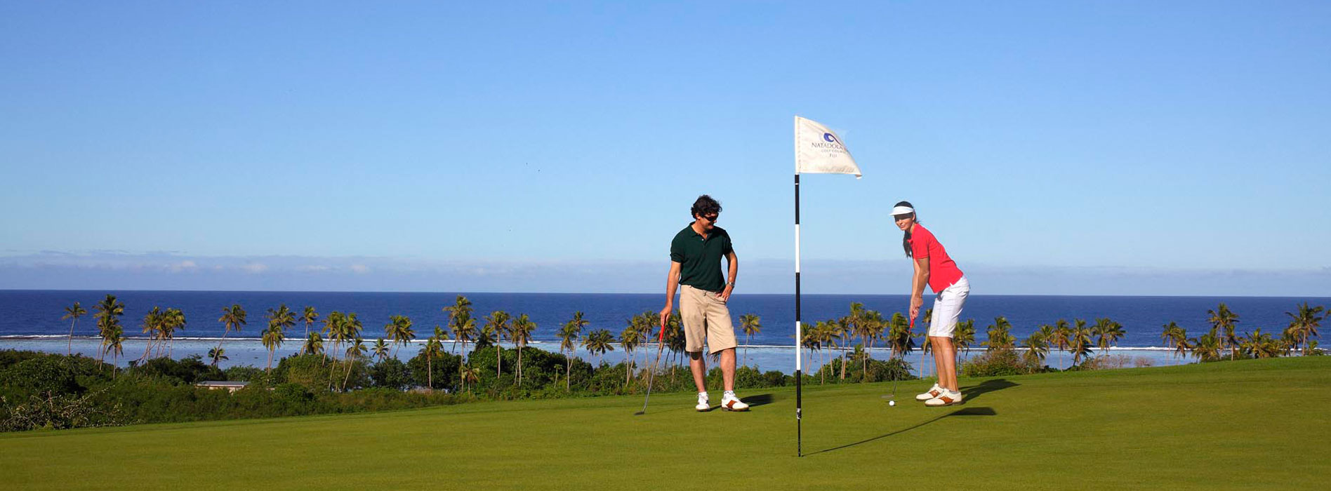 fiji resorts with a golf course