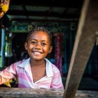 Visiting a Fijian village