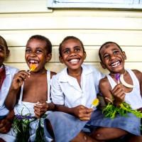 Visit to Fijian village
