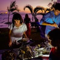 Island lovo buffet