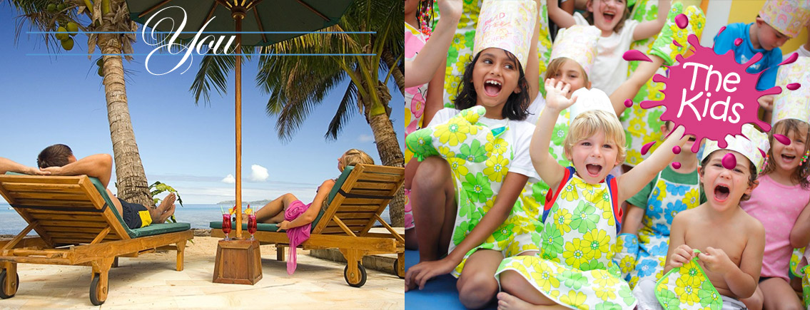 fiji resorts with kids clubs