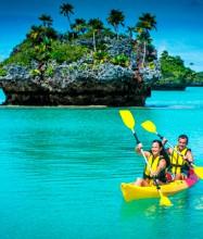 Explore pristine waters