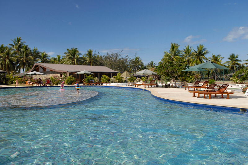 Plantation Island Resort Fiji package deal and special offer.