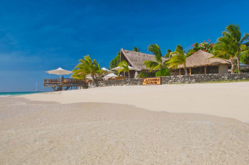 castaway island resort fiji beach