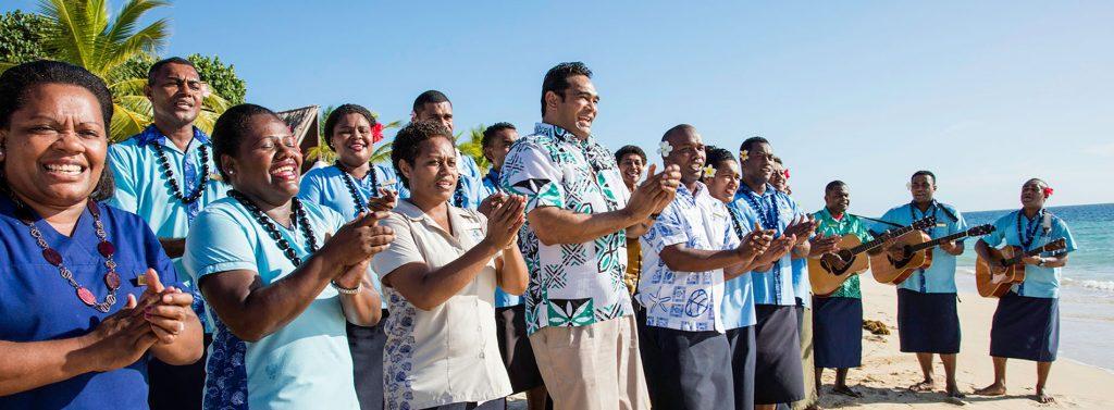 fiji welcome ceremony