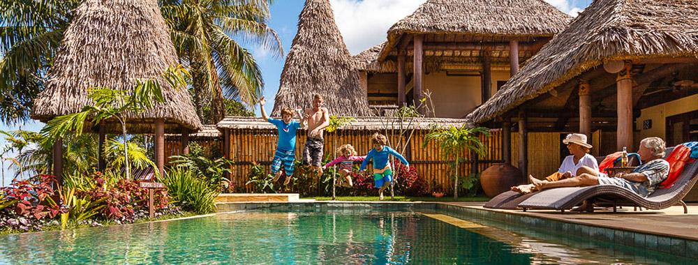 fiji villas accommodation