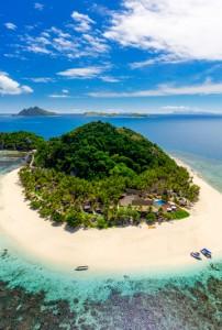 Matamanoa Resort – Aerial