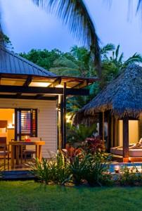 Matamanoa Resort – Villa Exterior