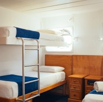 Captain Cook Cruises Fiji – Bunk Cabin