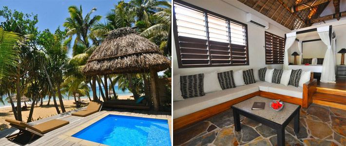 paradise cove resort fiji beachfront villa with pool