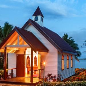 fiji wedding sofitel resort chapel