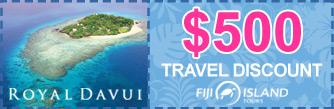 royal davui resort fiji discount