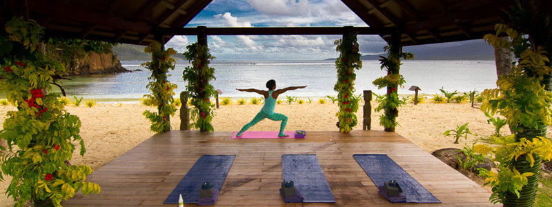 qamea resort fiji yoga