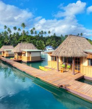 Koro Sun Resort & Rainforest Spa – Floating Bure