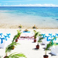 fiji beach wedding outrigger resort
