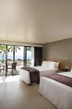 Double Tree Resort by Hilton Hotel Fiji – Beachfront Guest Room