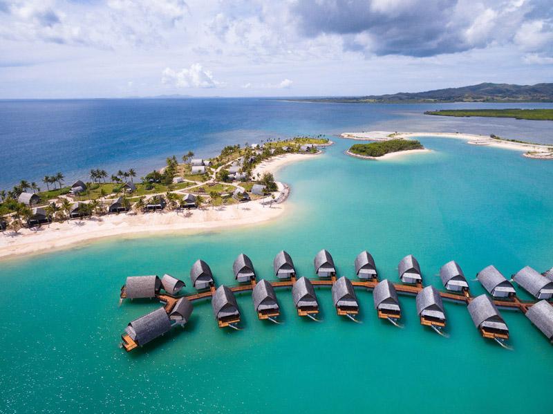 Fiji Marriott Resort Momi Bay Over Water Bungalows Fiji