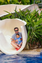 Jean Michel Cousteau Resort Fiji – Pool Slide