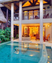 Nanuku Auberge Resort Fiji – Bedroom Beachfront Duplex Villa