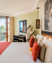 The Warwick Resort & Spa Fiji – Suite Bedroom with Balcony