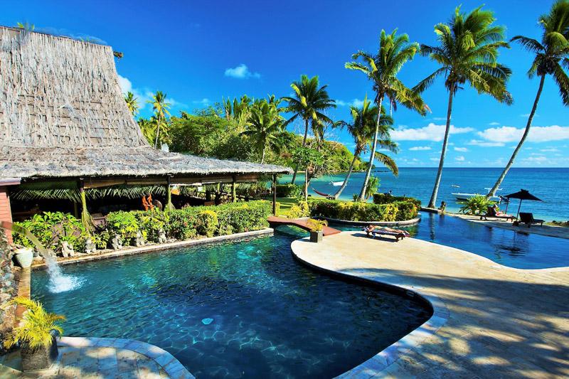 beqa lagoon resort fiji pool