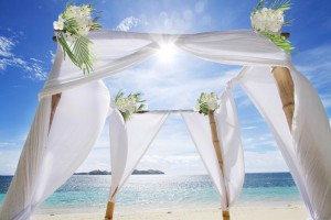Fiji Wedding Inspiration – Beachfront Arch