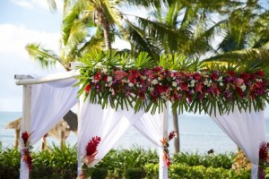 Fiji Wedding Inspiration – Floral Arch