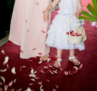 Fiji Wedding Inspiration – Flower Girl