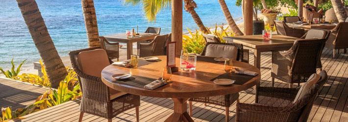 kokomo private island resort fiji restaurant