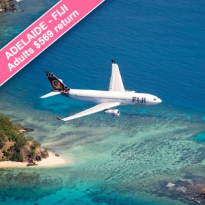 adelaide fiji cheap flights